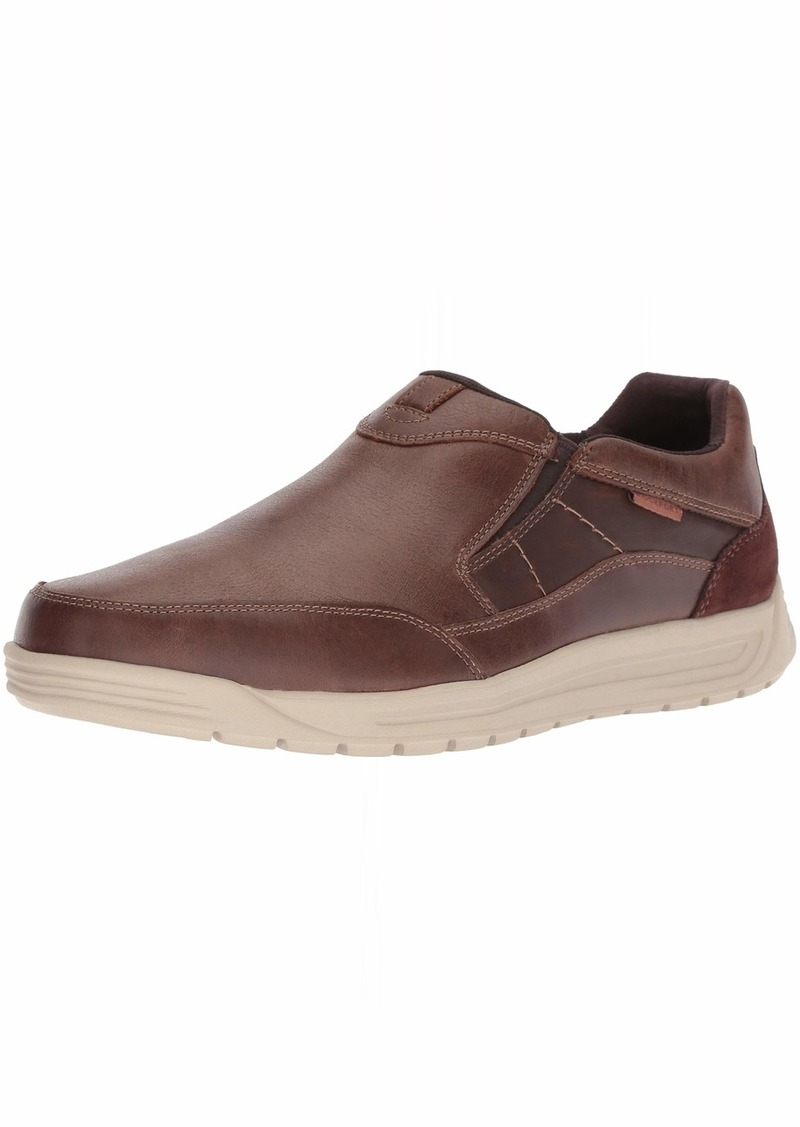Rockport Men's Randle Slip On Shoe brown  M US