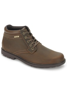 Rockport Men's Rugged Bucs H20 Waterproof Plain Toe Boots Men's Shoes