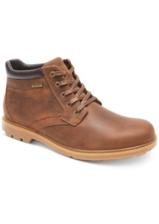 Rockport Men's Rugged Bucs H20 Waterproof Plain Toe Boots Men's Shoes