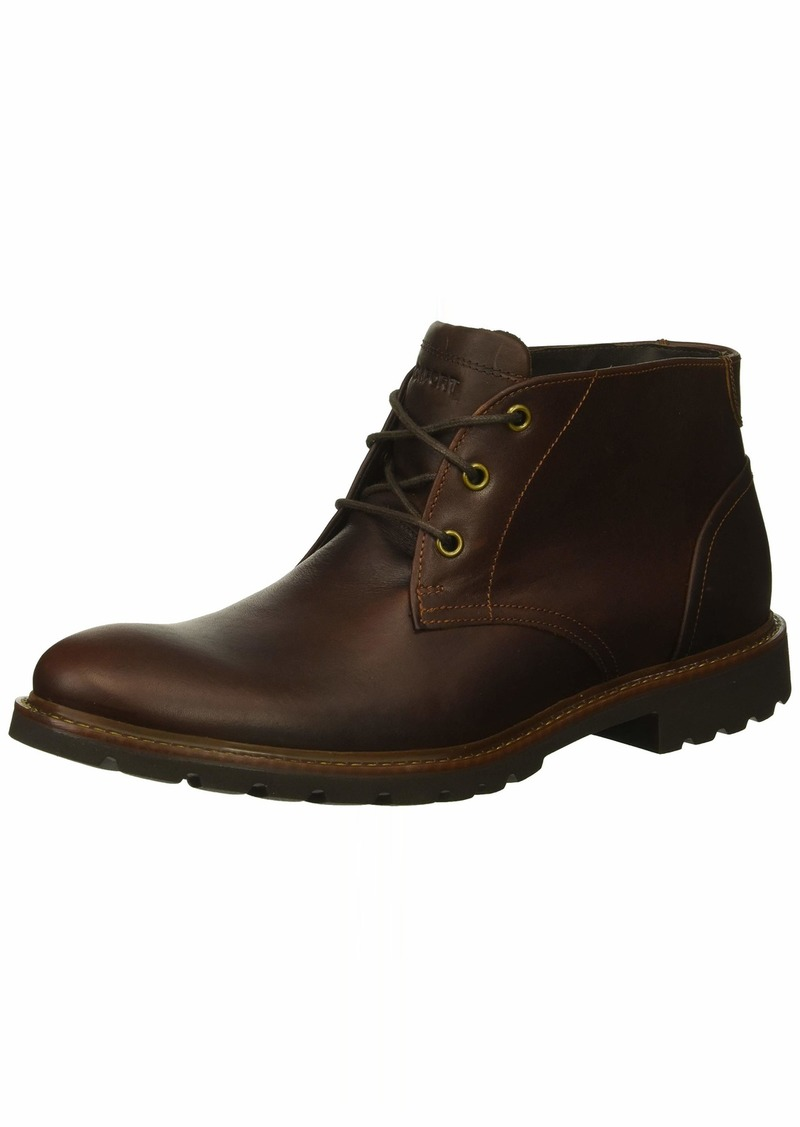 Rockport Men's Sharp & Ready Chukka Boot saddle brown 9 M US