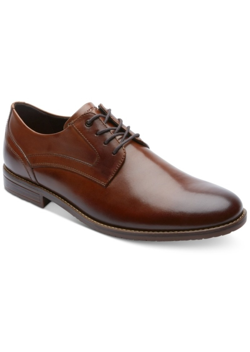 Rockport Men's Style Purpose 3 Plain-Toe Oxfords Men's Shoes