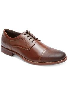 Rockport Men's Style Purpose Blucher Cap-Toe Oxfords Men's Shoes