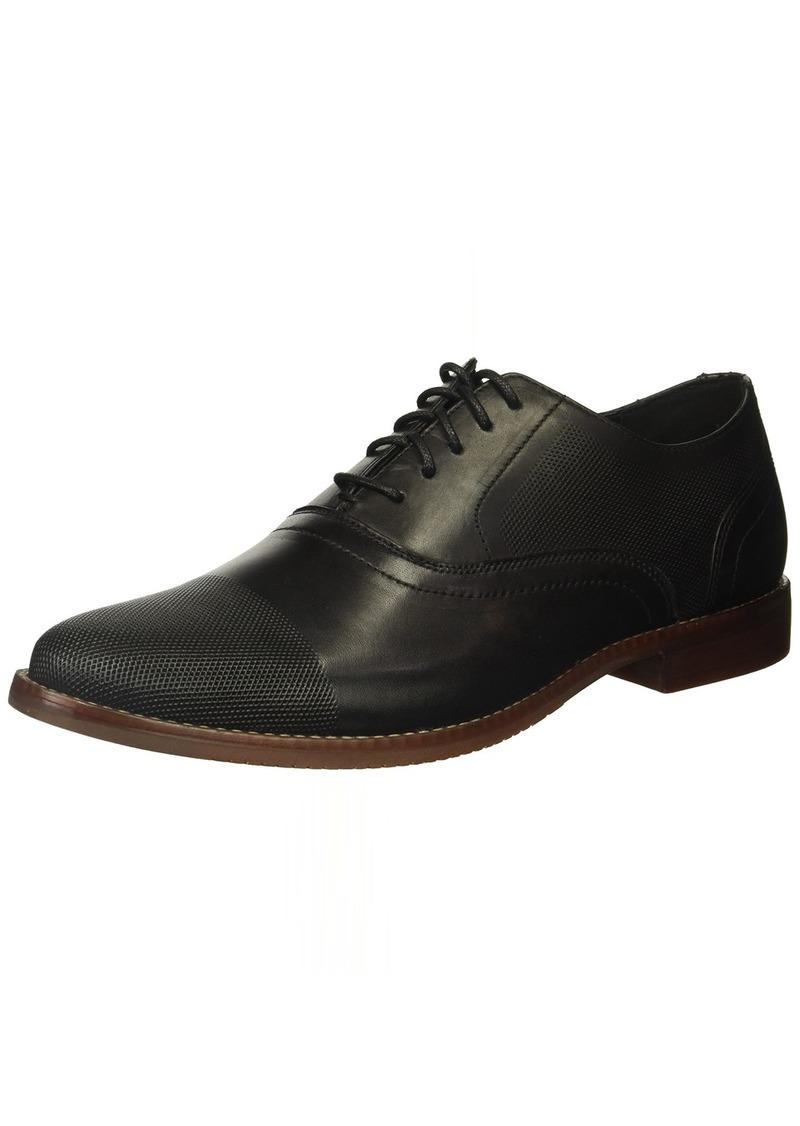 Rockport Men's Style Purpose Perf Cap Toe Shoe black leather 9 M US