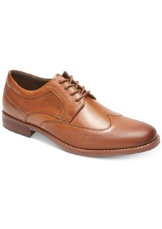 Rockport Men's Style Purpose Perforated Wingtip Oxford Men's Shoes