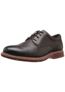 Rockport Men's Total Motion Fusion Plaintoe Shoe dark bitter chocolate  US