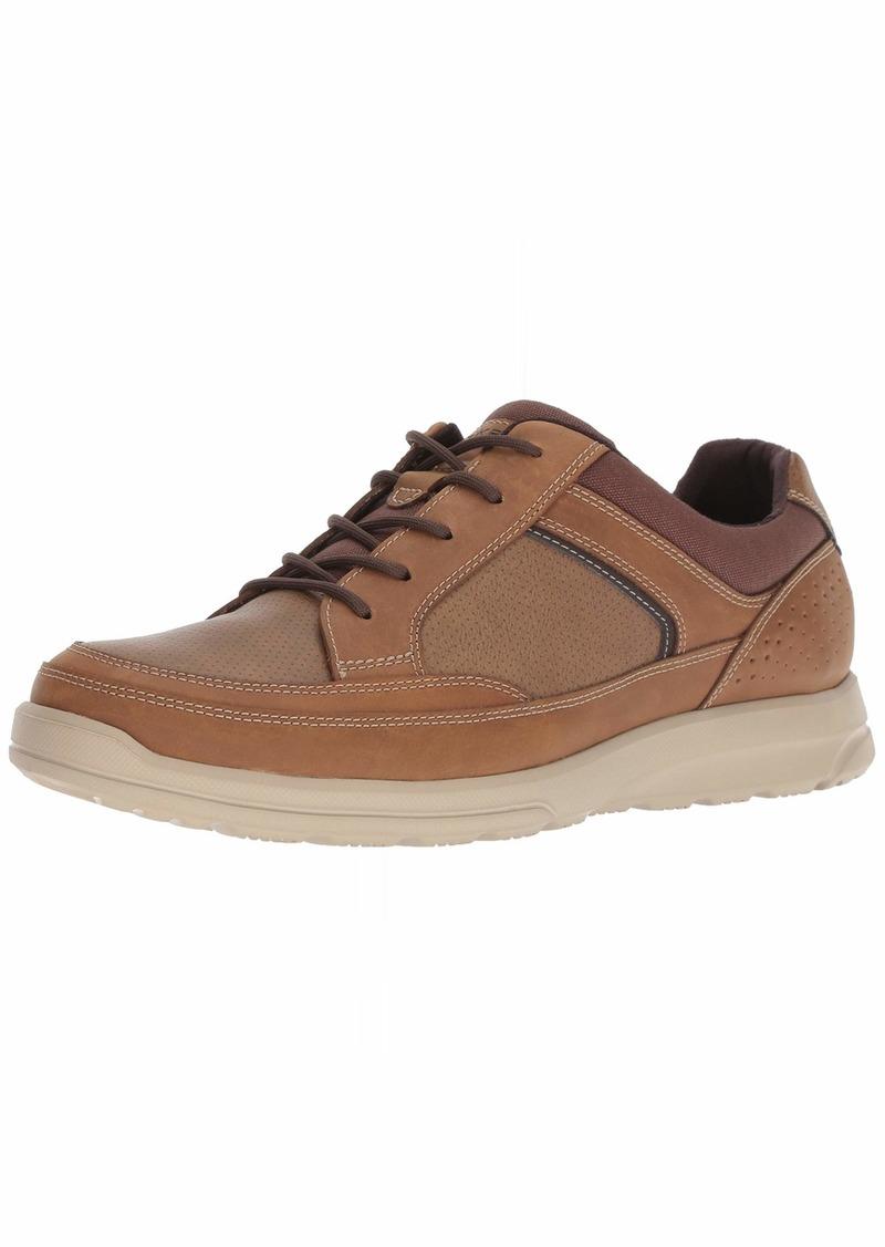Rockport Men's Welker Casual Lace Up Shoe tan 8.5 W US
