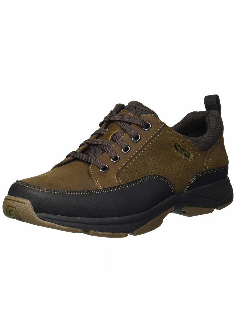 Rockport Men's We're Rockin Lace to Toe Shoe dark brown 9 M US