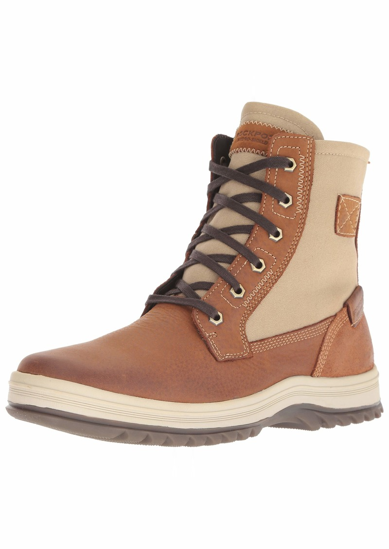 Rockport Men's World Explorer Tall Boot Boot tan 9 M US