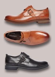 Rockport Men's Wynstin Monk Strap Oxfords, Created for Macy's Men's Shoes