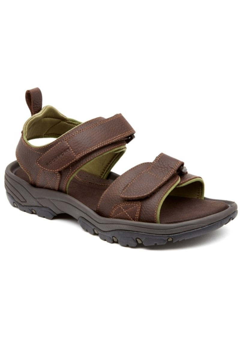 rocklake men Whether on the trail or on vacation, the rock lake sandal from rockport is a great choice.