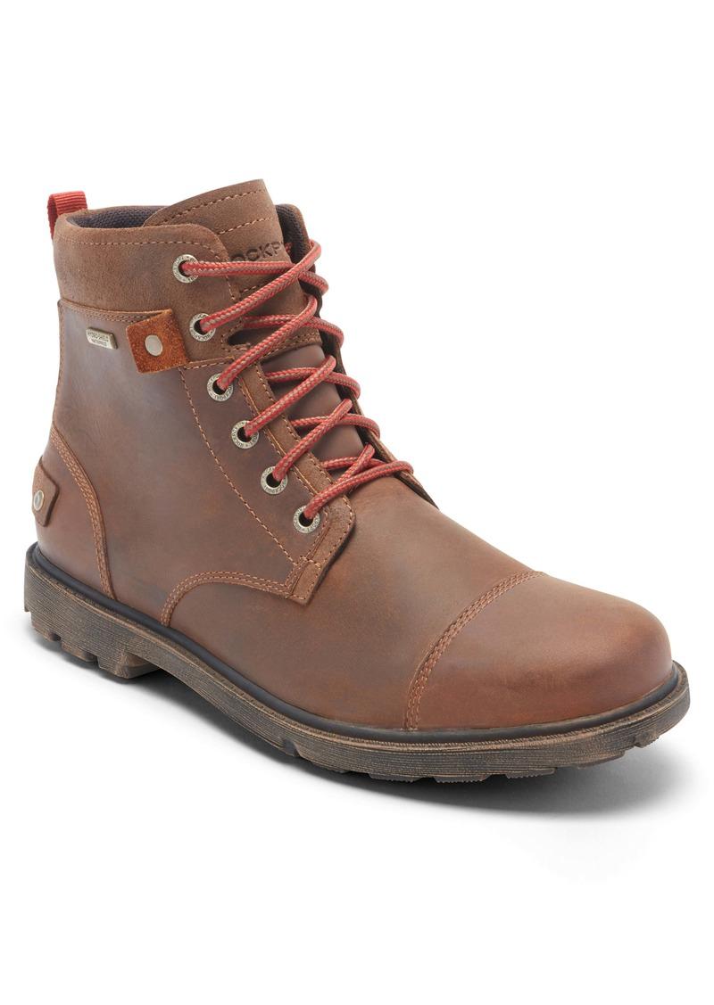 Rockport Rugged Bucks II Waterproof Plain Toe Boot (Men)