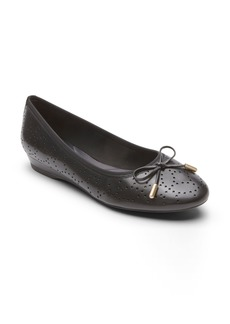 Rockport Shea Perforated Tie Flat (Women)