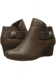 Rockport Total Motion 45mm Wedge Stone Bootie