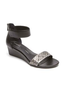 Rockport Total Motion® Ankle Strap Wedge Sandal (Women)