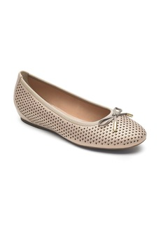 Rockport Total Motion Hidden Wedge Perforated Flat (Women)
