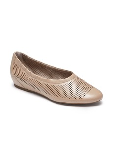 Rockport Total Motion Luxe Flat (Women)