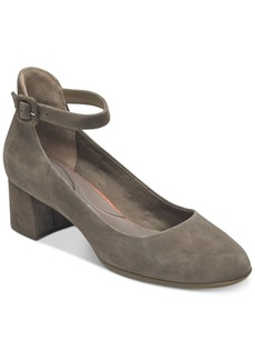 Rockport Total Motion Novalie Ankle-Strap Pumps Women's Shoes