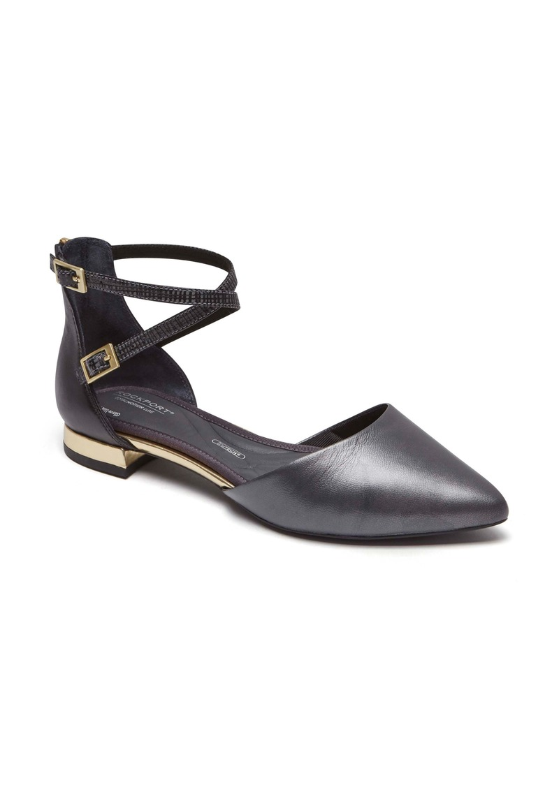 Rockport Total Motion Zuly Luxe Ankle Flats