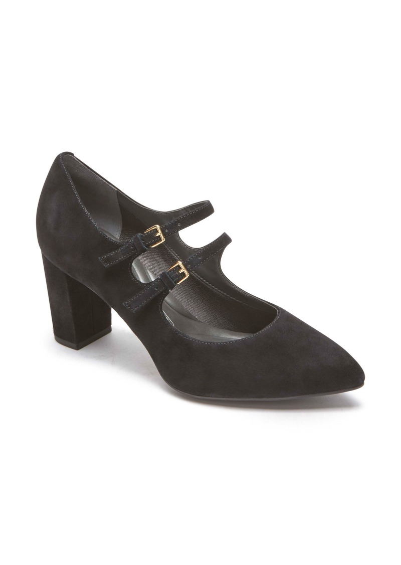 Rockport Women's Violina Luxe Double Strap Mary Jane Pump eKrFbI0cd