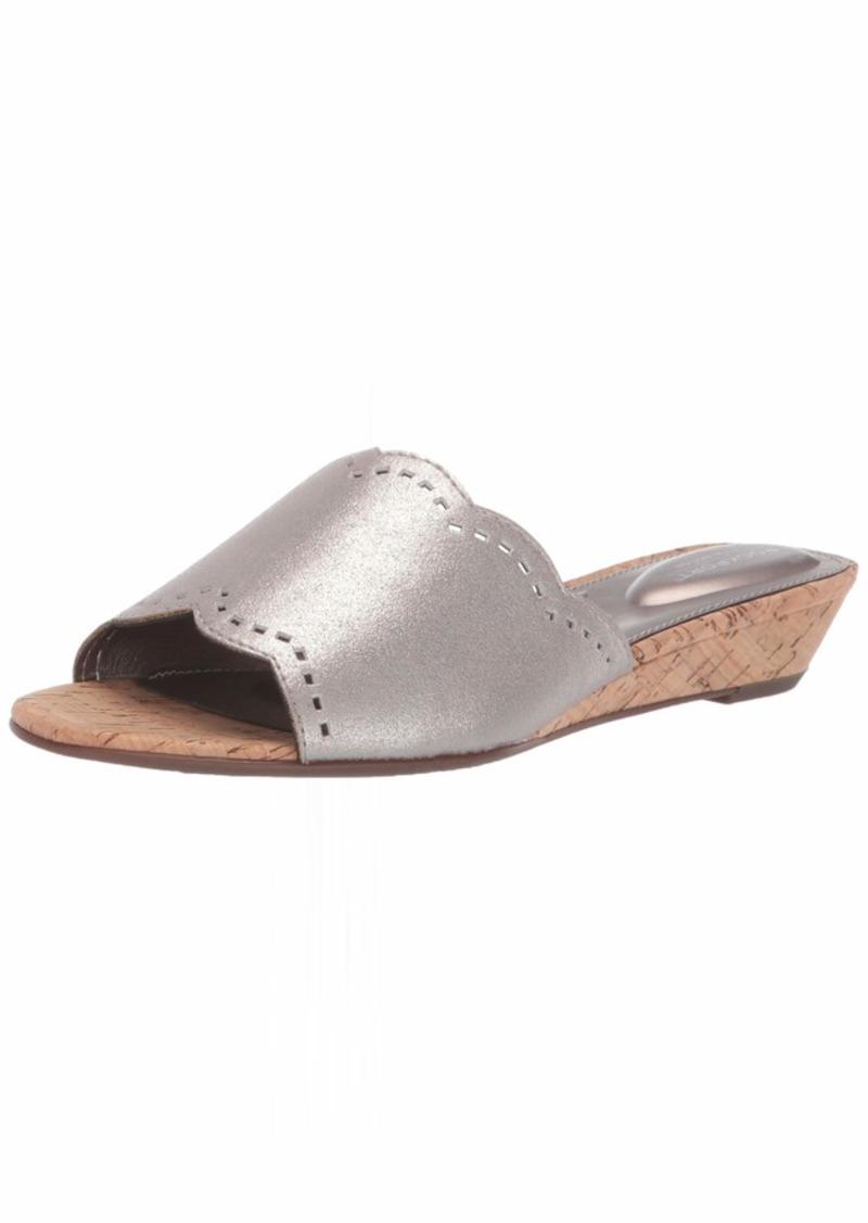 Rockport Women TM Zandra Slide Wedge Sandal   M US