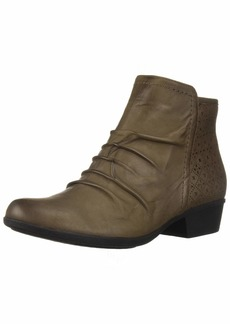 Rockport Women's Carly Rouched Bootie Ankle Boot