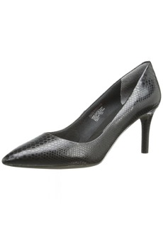 Rockport Women's Total Motion 75mm Pointy Toe Pump  Python