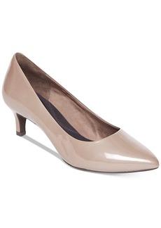 Rockport Women's Total Motion Kalila Kitten-Heel Pumps Women's Shoes