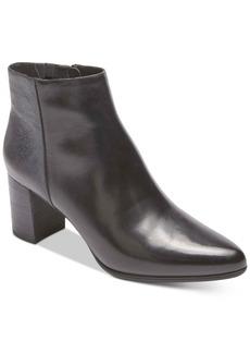 Rockport Women's Total Motion Lynix Block Heel Booties Women's Shoes