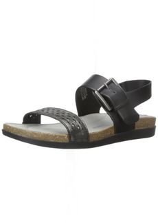 Rockport Women's Total Motion Romilly Buckled Flat Sandal US