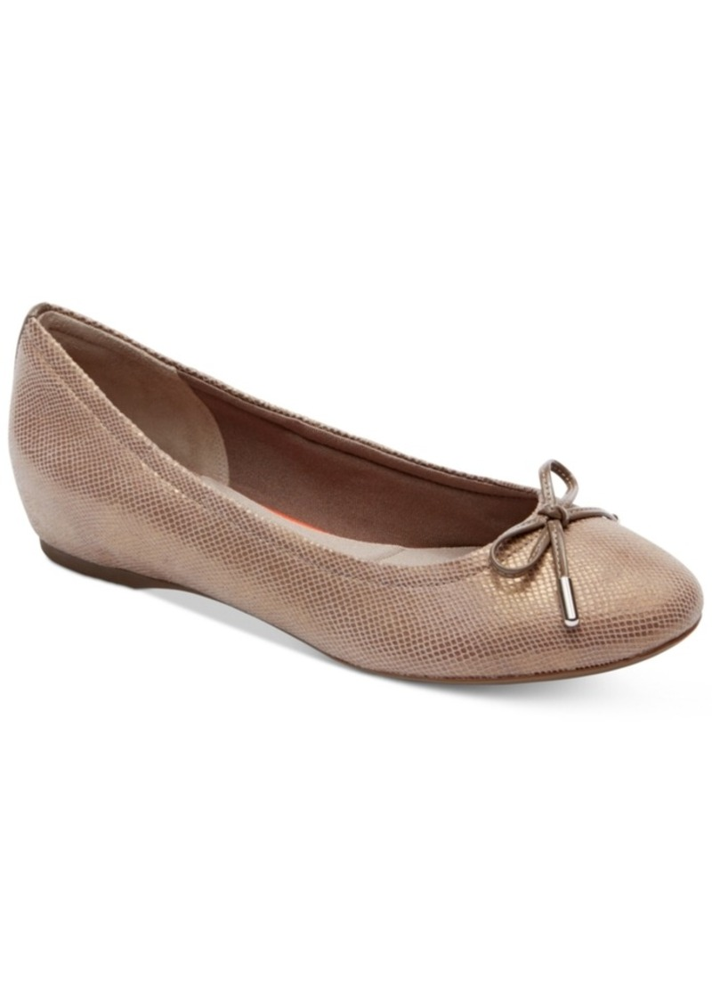 dad671c207f Women's Total Motion Round-Toe Ballet Flats Women's Shoes