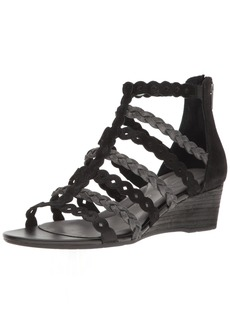 Rockport Women's Total Motion Wedge Gladiator Sandal   M US