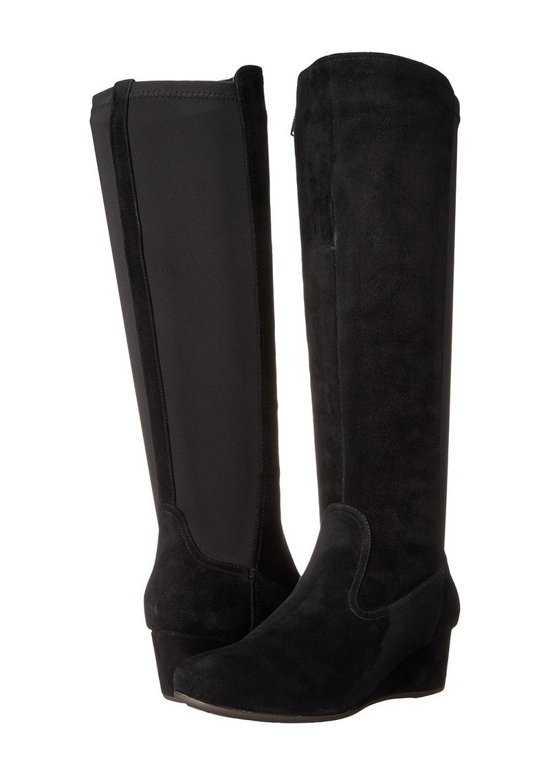 Rockport Total Motion 45mm Wedge Tall Boot - Wide Calf