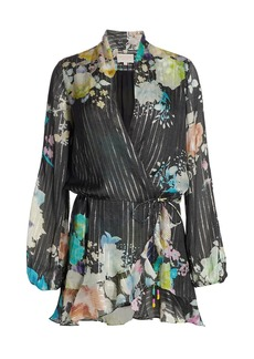 Rococo Sand Aita Wrap Mini Dress