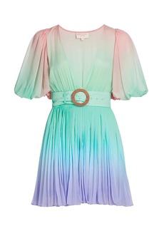 Rococo Sand Emi Ombre Pleated Mini Dress