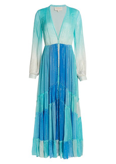 Rococo Sand Leal Ombre Maxi Dress