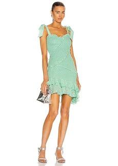 ROCOCO SAND Aria Tie Strap Mini Dress