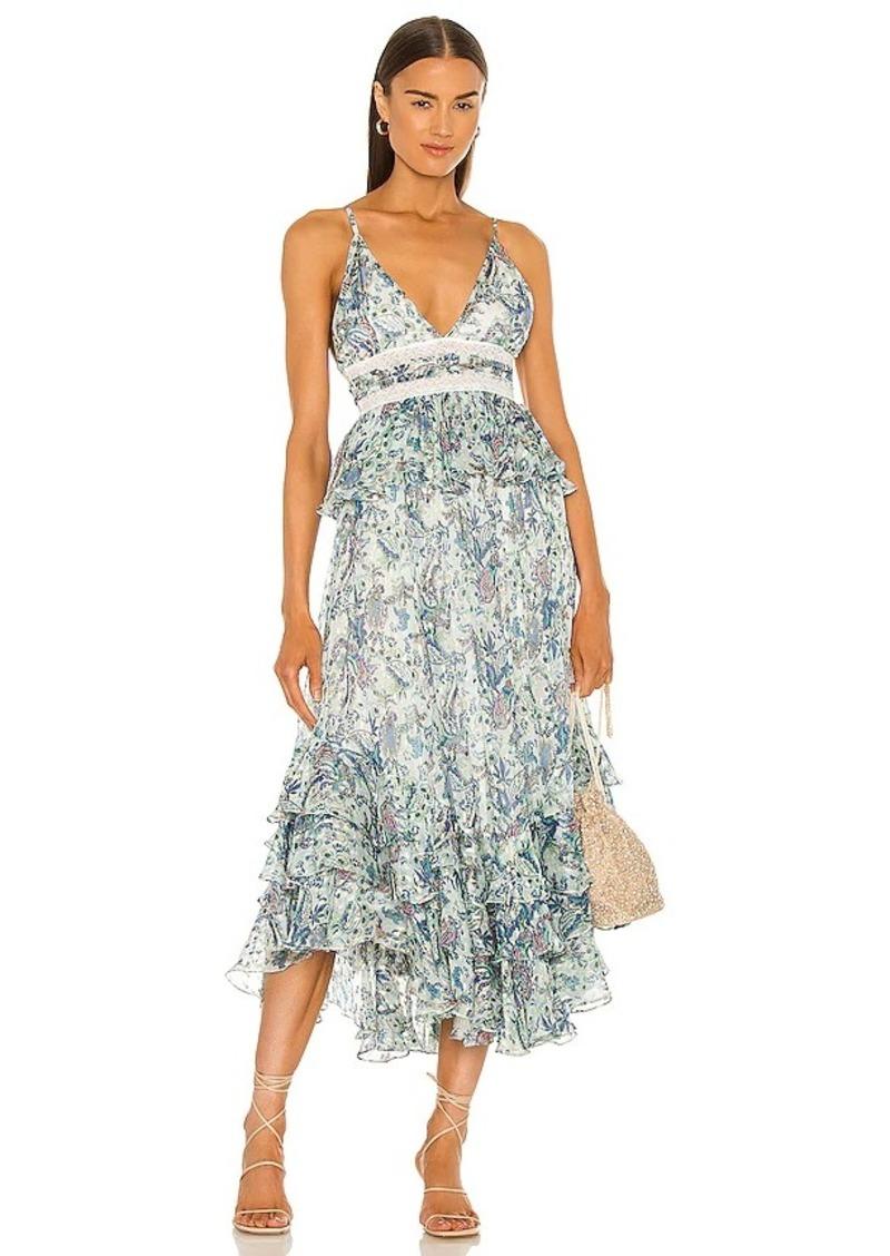 ROCOCO SAND Braw Strappy Maxi Dress
