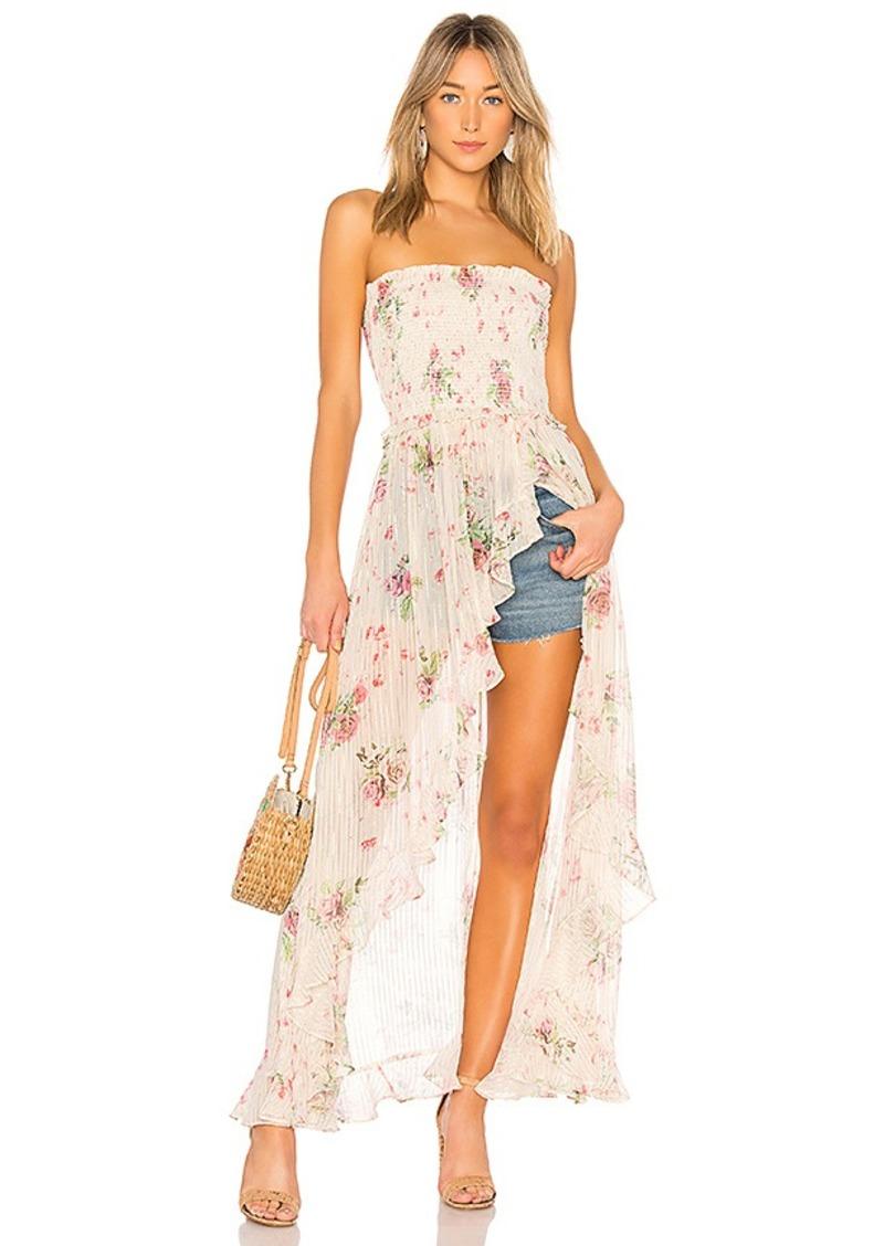 f5d6291a93 Rococo Sand ROCOCO SAND x REVOLVE Strapless Maxi Dress
