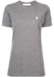 Rodarte embroidered heart T-shirt