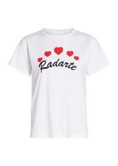 Rodarte Radarte Heart-Print T-Shirt