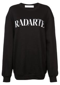 Rodarte logo print sweatshirt