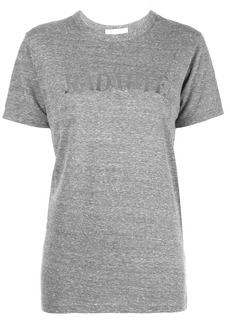 Rodarte metallic print T-shirt