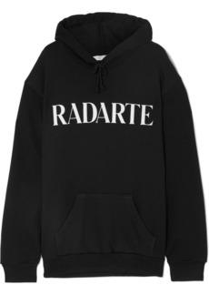Rodarte Oversized Printed Cotton-blend Jersey Hoodie