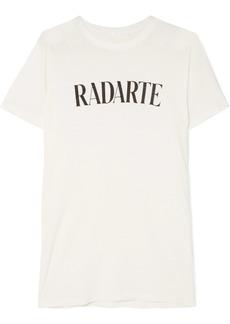 Rodarte Printed Jersey T-shirt