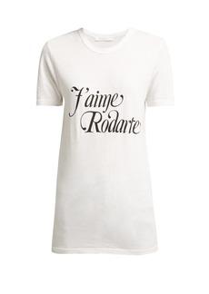 Rodarte J'aime Rodarte printed T-shirt