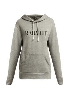 Rodarte Radarte cotton-blend hooded sweatshirt