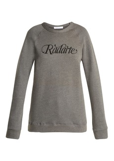 Rodarte Radarte cotton sweatshirt