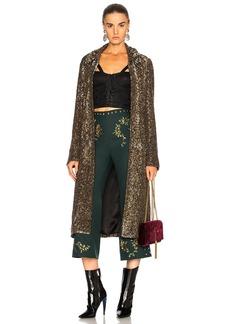 Rodarte Sequin Coat