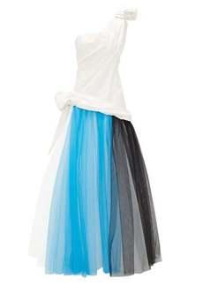 Rodarte Tulle and silk-blend taffeta gown