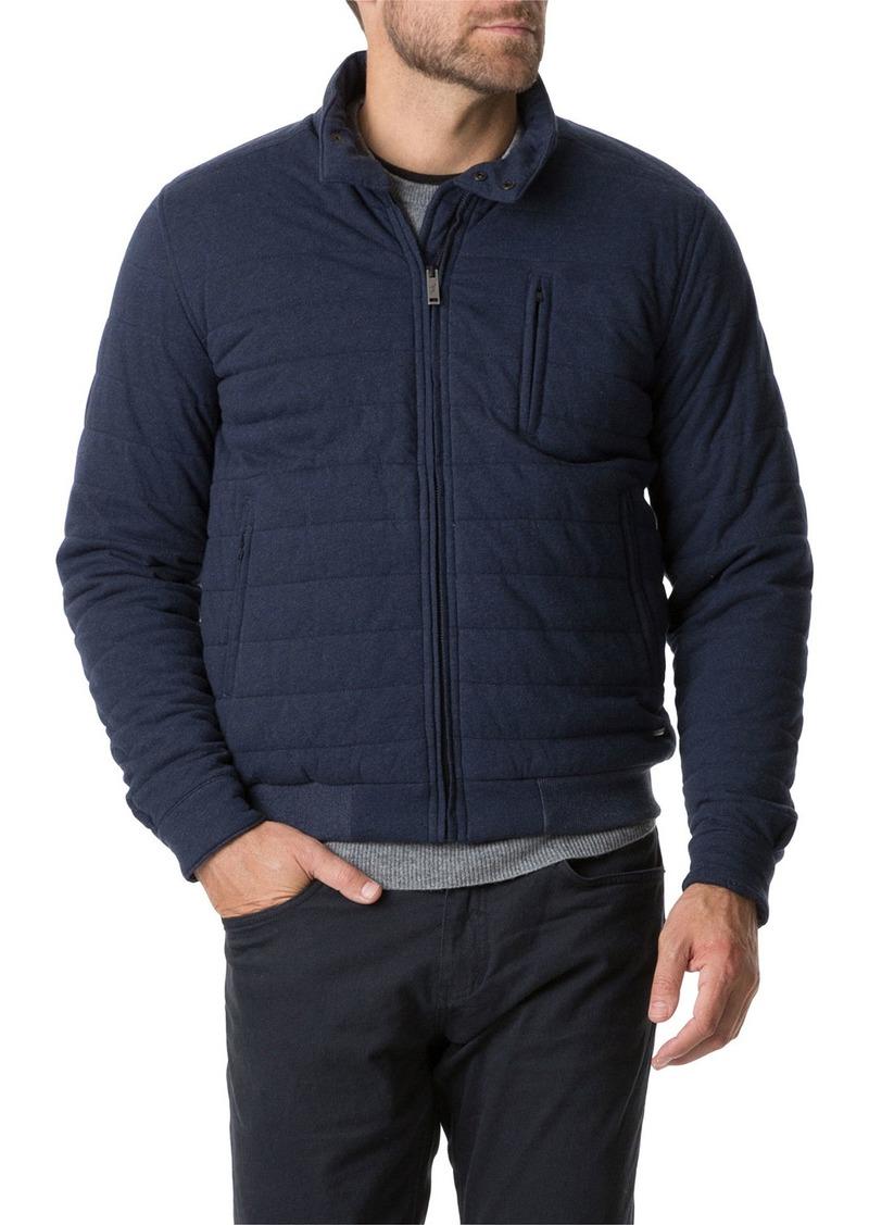 Rodd & Gunn Men's Evans Creek Quilted Zip-Front Coat